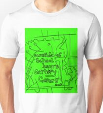 outside of school hours activity garment - green T-Shirt