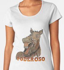 Powerful Horse Camiseta premium para mujer