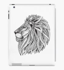 Zentangle Lion iPad Case/Skin