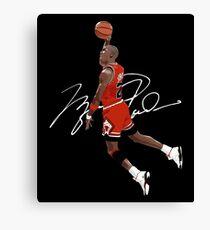 Michael Air Jordan - Supreme Canvas Print