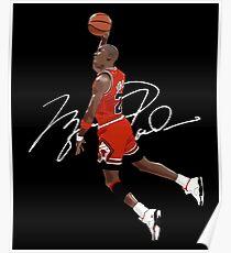 Michael Air Jordan - Supreme Poster