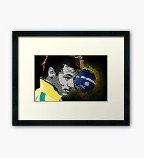 Neymar Da Silva Framed Print