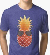 Sunburnt Pineapple Tri-blend T-Shirt