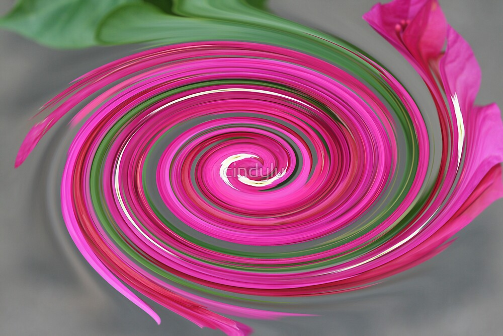 Flower swirl by cindylu