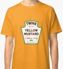 TWINS Yellow Mustard Classic T-Shirt