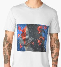 The Bluest Flames of Recall Men's Premium T-Shirt