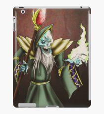Evil Wizard illustration iPad Case/Skin