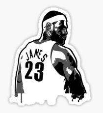 King James (Color Modifiable)  Sticker