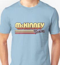 McKinney, TX   City Stripes T-Shirt