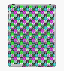 square monster pattern punk iPad Case/Skin