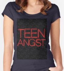 Teen Angst Women's Fitted Scoop T-Shirt