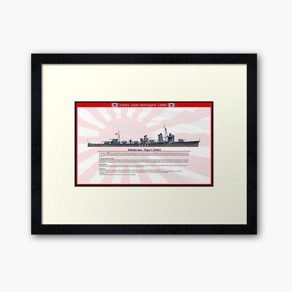 Fubuki Framed Art Print