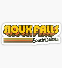 Sioux Falls, SD | City Stripes Sticker
