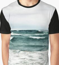 Turquoise Sea #1 Graphic T-Shirt