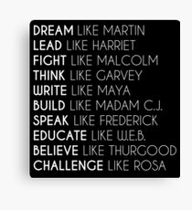 Dream Like Martin Canvas Print