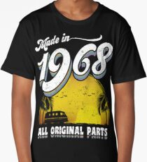 Made in 1968 All Original Parts 50 Birthday Gift Long T-Shirt