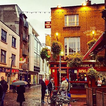 Temple Bar in Dublin  by BackpackPhoto