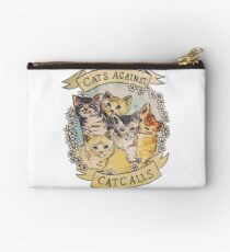 Cats Against Catcalls Studio Pouch