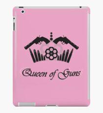 Queen of guns iPad Case/Skin