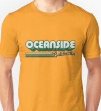 Oceanside, CA   City Stripes T-Shirt