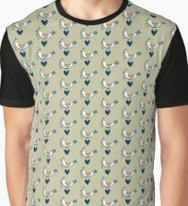 Scandivanian Music Bird Graphic T-Shirt
