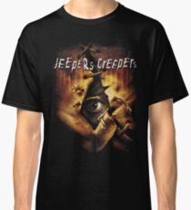 Jeepers Creepers Poster  (Only works with Black) Classic T-Shirt