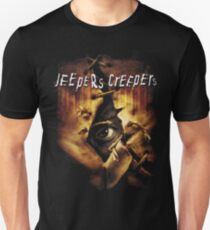 Jeepers Creepers Poster  (Only works with Black) T-Shirt