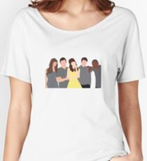 New Girl Characters Women's Relaxed Fit T-Shirt