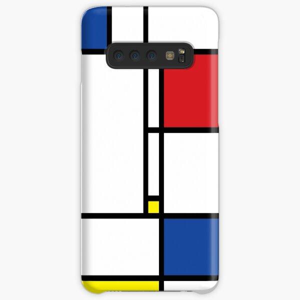 Mondrian Minimalist De Stijl Modern Art © fatfatin Samsung Galaxy Snap Case