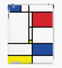 Mondrian Minimalist De Stijl Modern Art iPad Case/Skin