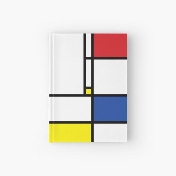 Mondrian Minimalist De Stijl Modern Art © fatfatin Hardcover Journal