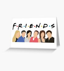FRIENDS Characters Greeting Card