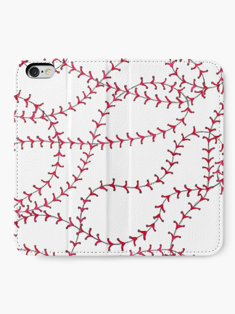 Alternate view of Baseball iPhone Wallet