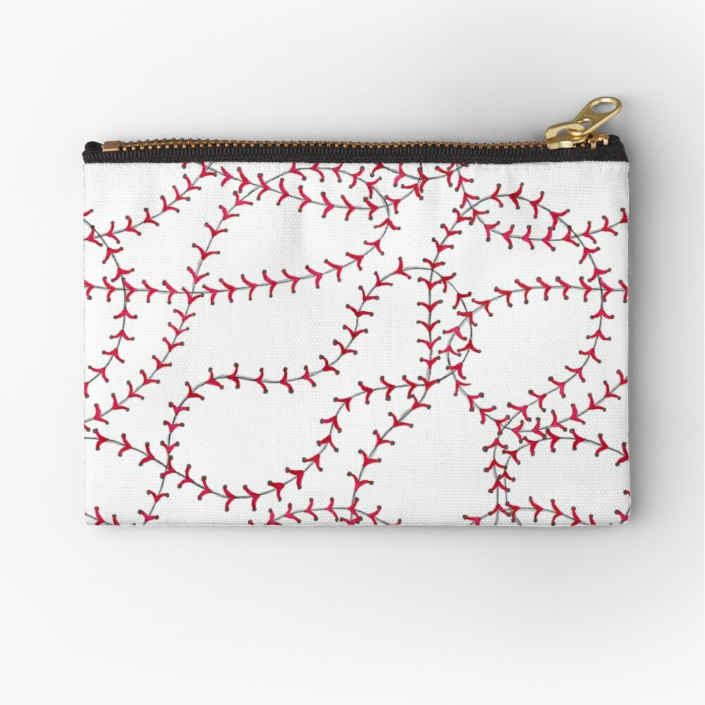Baseball Zipper Pouch