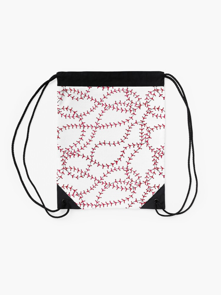 Alternate view of Baseball Drawstring Bag