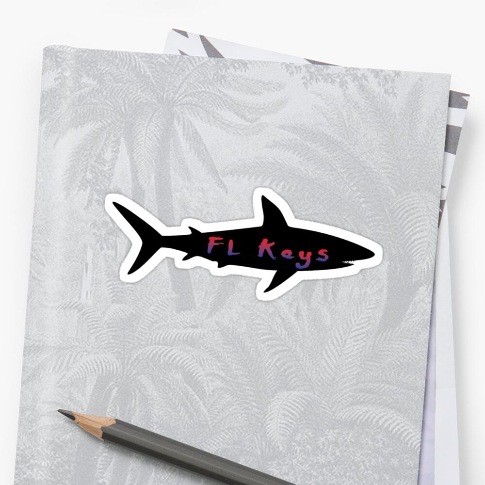 Florida Schlüßel Sticker