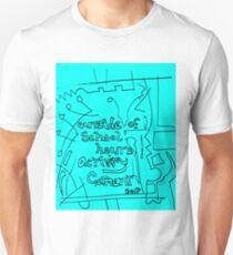 Outside of school hours activity garment - light blue T-Shirt