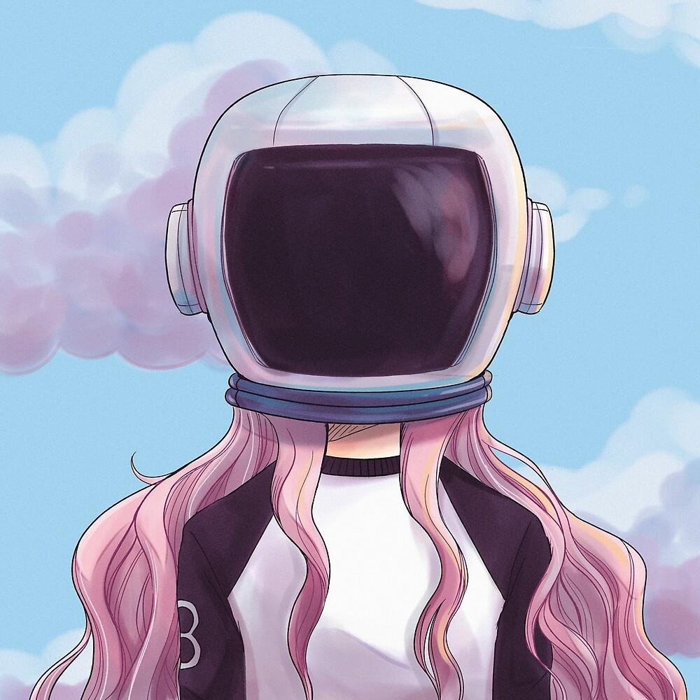Space Girl By Susanmariel Redbubble