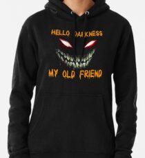 Hallo Dunkelheit mein altes Freundhemd Hoodie