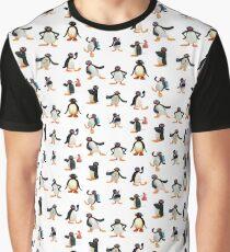 Pingu mood Graphic T-Shirt