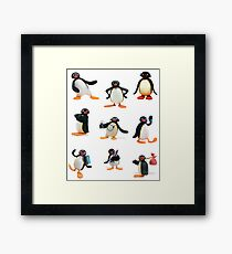 Pingu mood Framed Print