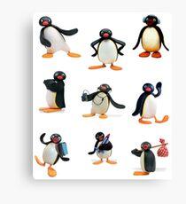 Pingu mood Canvas Print