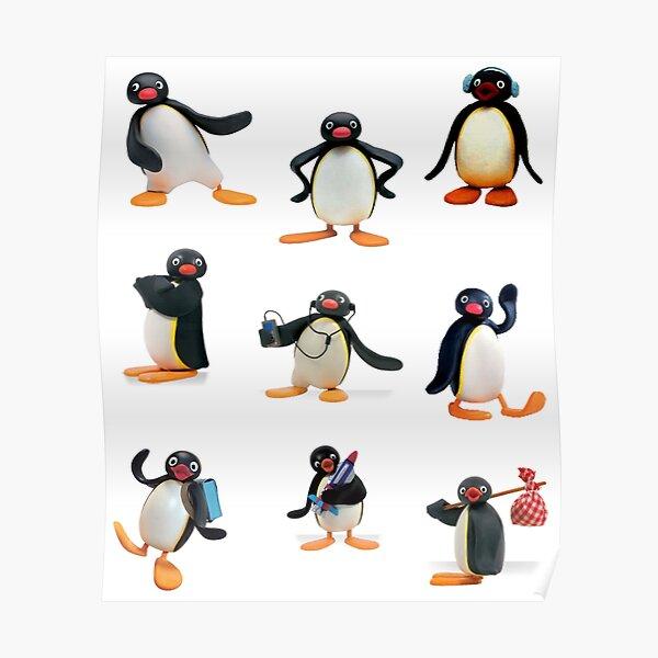 Estado de ánimo Pingu Póster
