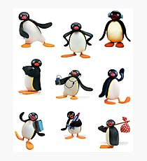 Pingu mood Photographic Print