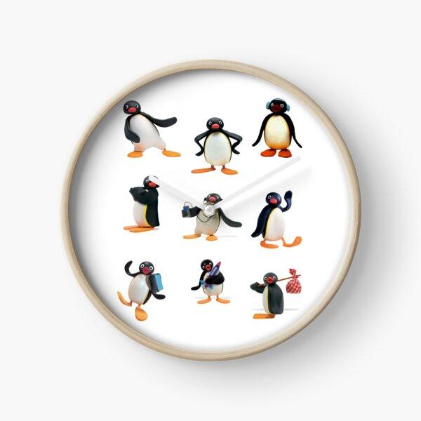 Pingu mood Clock