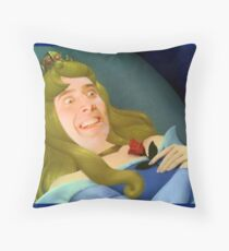 Sleeping Nic Throw Pillow
