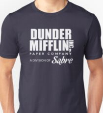 Dunder Mifflin Paper Company, A Division of Sabre — The Office Unisex T-Shirt