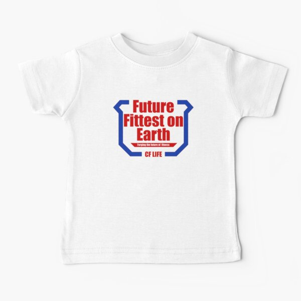 Future fittest on earth - adult version Baby T-Shirt