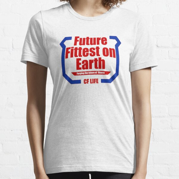 Future fittest on earth - adult version Essential T-Shirt