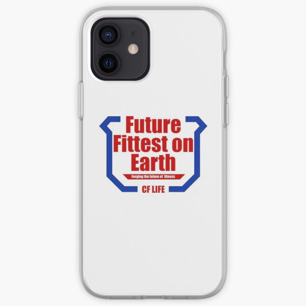Future fittest on earth - adult version iPhone Soft Case